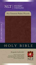 Pocket Thinline New Testament with Psalms and Proverbs-NLT