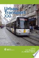 Urban Transport XXI