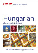 Hungarian   Berlitz Phrase Book and Dictionary