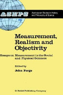 Measurement, Realism and Objectivity