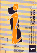 Issues And Innovations In Electronic Reserves Book PDF