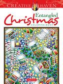 Creative Haven Entangled Christmas Coloring Book