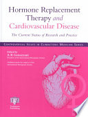 Hormone Replacement Therapy And Cardiovascular Disease Book PDF