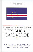 Historical Dictionary of the Republic of Cape Verde