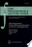 High-dimensional Partial Differential Equations in Science and Engineering