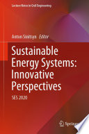 Sustainable Energy Systems: Innovative Perspectives