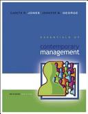 Essentials of Contemporary Management Book