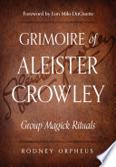 Grimoire of Aleister Crowley Book