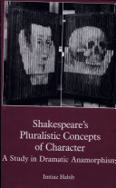 Pdf Shakespeare's Pluralistic Concepts of Character