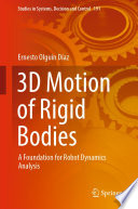 3D Motion of Rigid Bodies Book