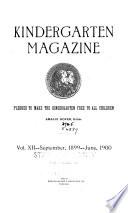 The Kindergarten Magazine