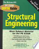 The McGraw-Hill Civil Engineering PE Exam Depth Guide