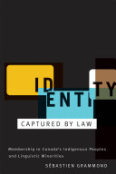 Pdf Identity Captured by Law Telecharger