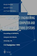 Performance Engineering of Computer and Telecommunications Systems