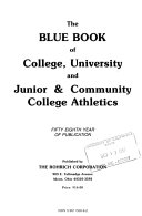The Blue Book of College Athletics     Book