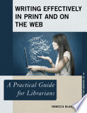 Writing Effectively In Print And On The Web Book PDF