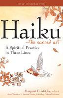 Haiku   the Sacred Art