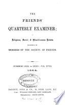 Friends' Quarterly Examiner