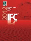 International Fire Code 2012