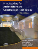 Print Reading for Architecture and Construction Technology  Book Only  Book