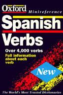Spanish Verbs Book PDF