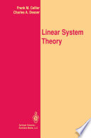 Linear System Theory