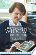 The Names of God Widow'S Topical Bible Pdf/ePub eBook