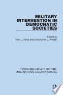 Military Intervention In Democratic Societies
