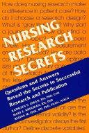 Nursing Research Secrets