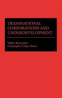 Transnational Corporations And Underdevelopment