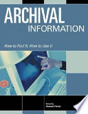 Archival Information