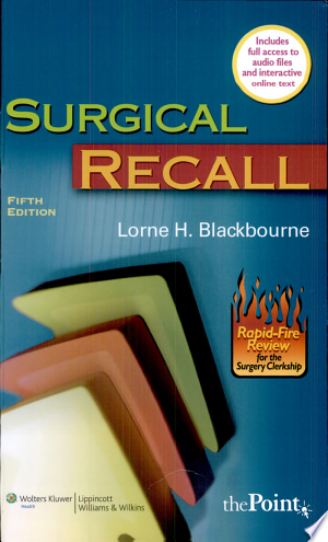 Download Surgical Recall Free Books - Dlebooks.net