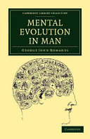 Mental Evolution in Man