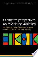 Alternative Perspectives on Psychiatric Validation Book