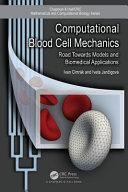Computational Blood Cell Mechanics ebook