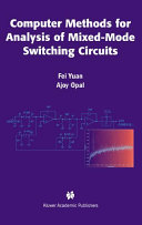 Computer Methods for Analysis of Mixed Mode Switching Circuits