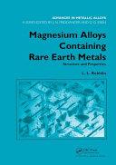 Magnesium Alloys Containing Rare Earth Metals