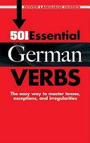 501 Essential German Verbs