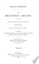 Arcana Coelestia Book PDF
