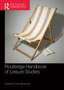 Pdf Routledge Handbook of Leisure Studies Telecharger
