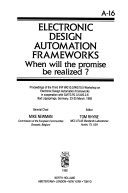 Electronic Design Automation Frameworks Book