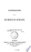 Confessions of an hom  opathist