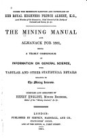 The Mining Manual and Almanack