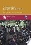 Communicating Environmental Geoscience
