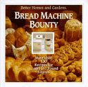 Pdf Bread Machine Bounty