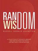 Random Wisdom Book