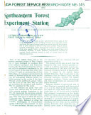 Forest Service Research Note NE.