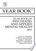 Year Book Of Psychiatry And Applied Mental Health 2011 Ebook