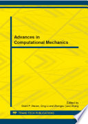 Advances In Computational Mechanics
