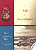I Call to Remembrance
